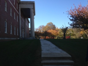 Building 11 - this was once the dormitory for the Army's first Nursing School.