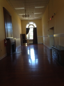 one of many old ballrooms.  This one in building 11.