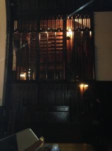 Working pipe organ